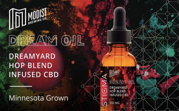 Brewer and retailer join forces to create CBD oil that tastes like beer