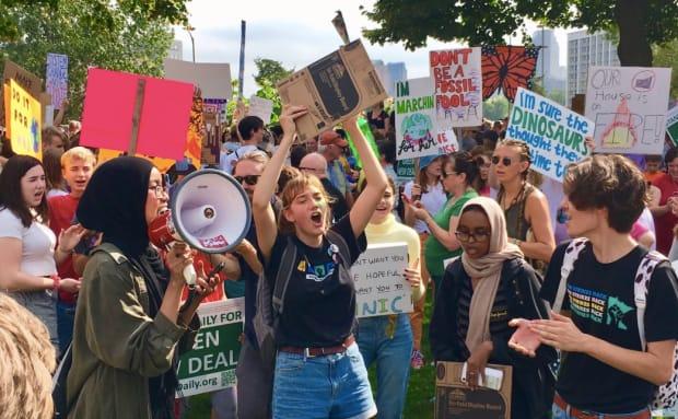 Minnesota students join millions worldwide in climate change strike