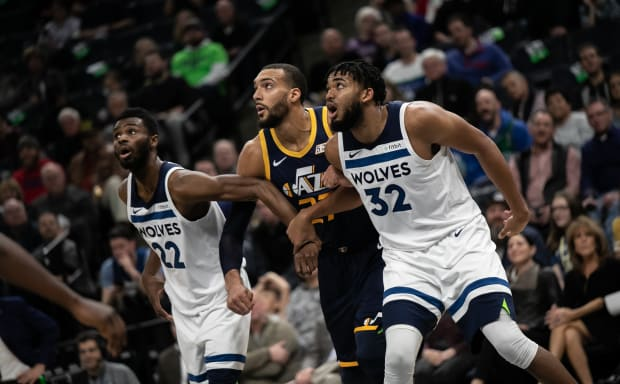 Slumping Wolves lose 6th straight as Jazz rock Target Center