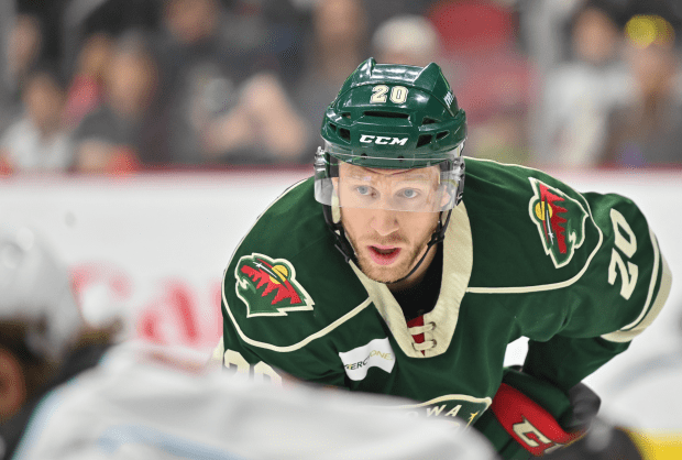 It looks like Gerry Mayhew finally get a chance to shine with the Wild
