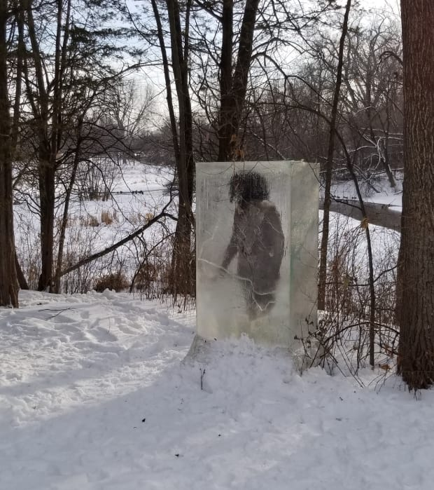 Minnesotans flock to Minneapolis park to see 'caveman in ice' sculpture