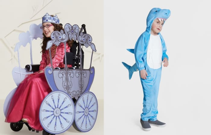 Target reveals adaptive Halloween costumes for kids with disabilities