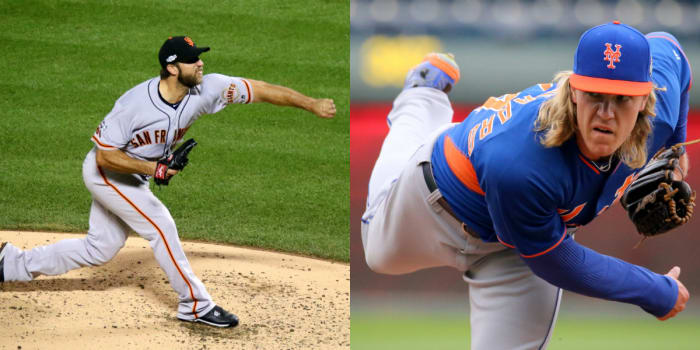 Report: Twins scouts watching Bumgarner and Syndergaard