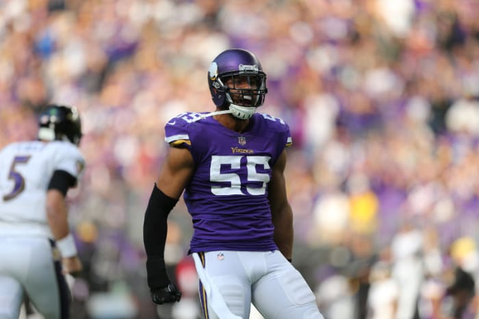 Vikings injuries: Mike Hughes in, Anthony Barr out