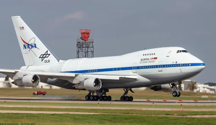 NASA's Boeing 747-mounted telescope makes a stop at MSP