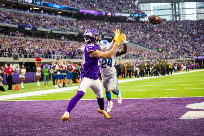 Vikings injury report: Thielen in, Mattison out