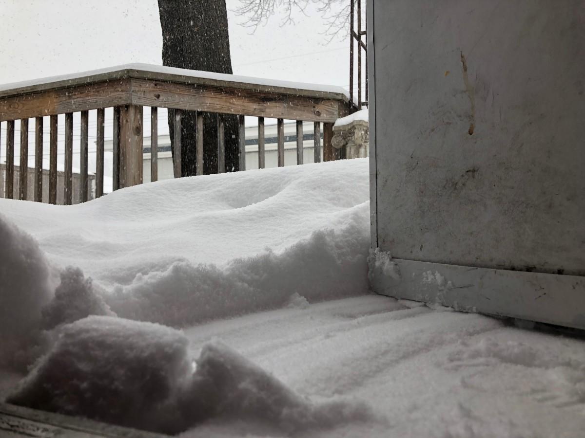Snow, Richfield