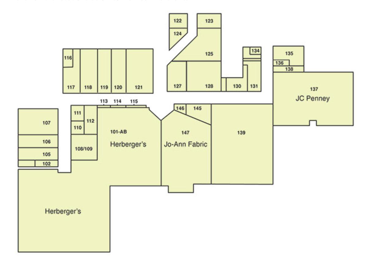 Viking Plaza Mall map