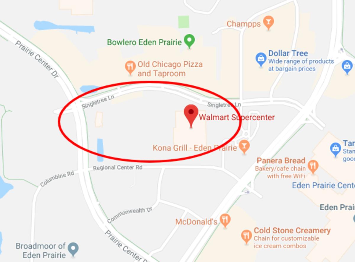 Walmart Eden Prairie