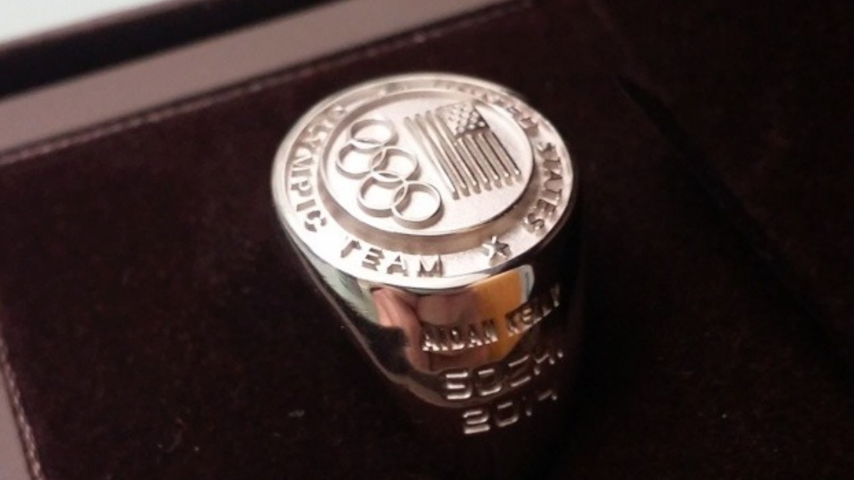 Aidan Kelly Olympic ring