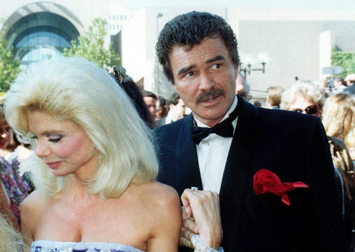 Reynold with his former wife, Loni Anderson, in 1991.