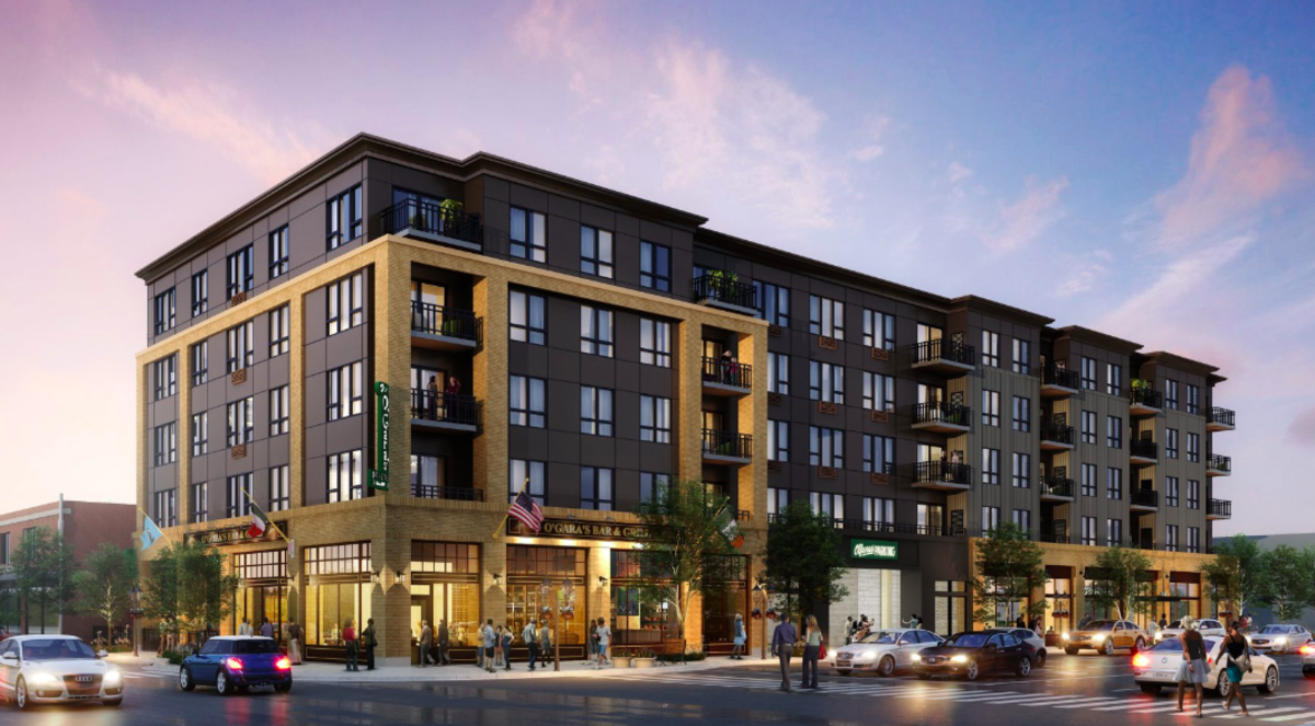 Here's a rendering of what the new building featuring apartments, office spaces and O'Gara's will look like.