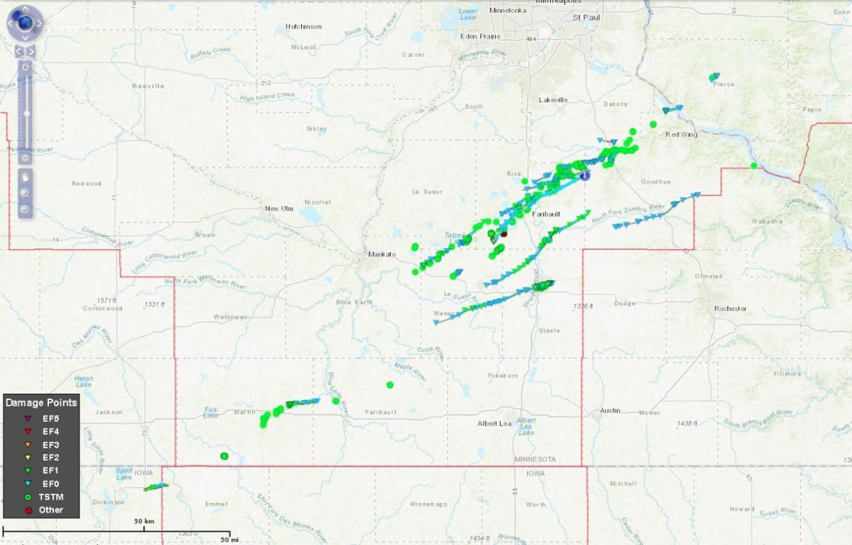 September 20, 2018 tornado outbreak