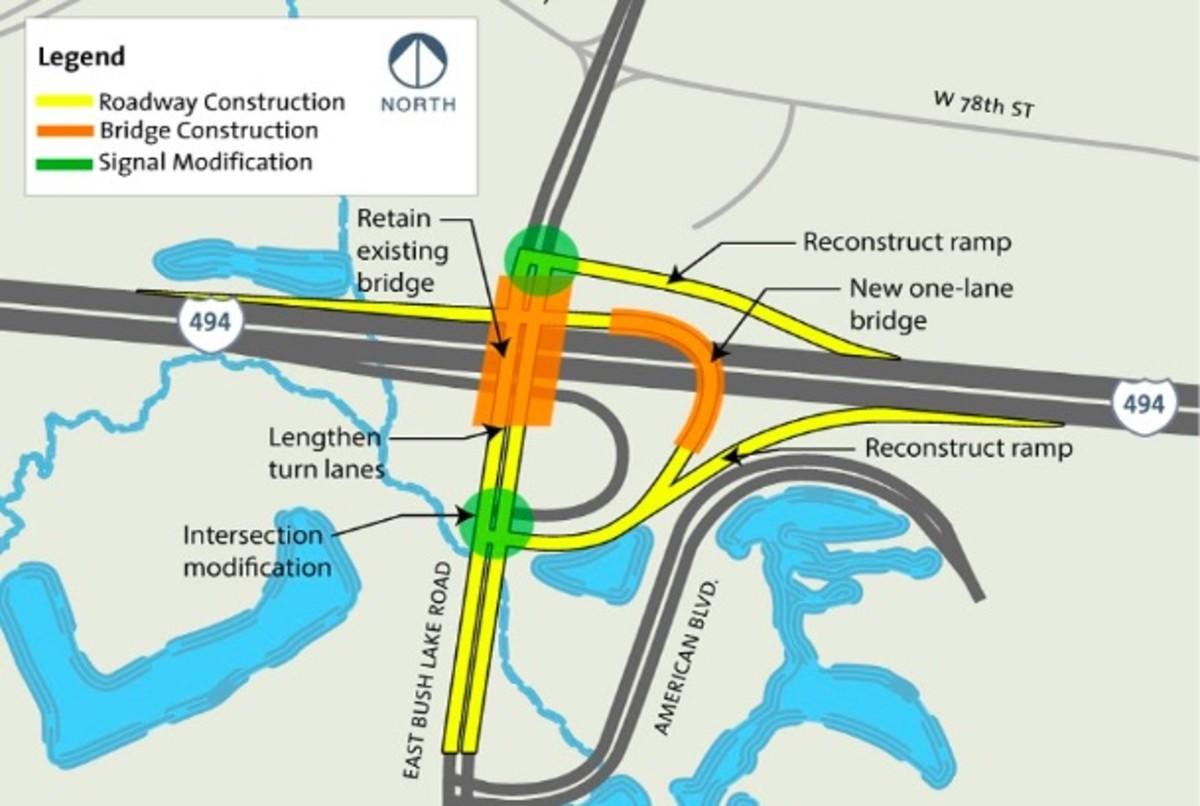 I-494 bridge