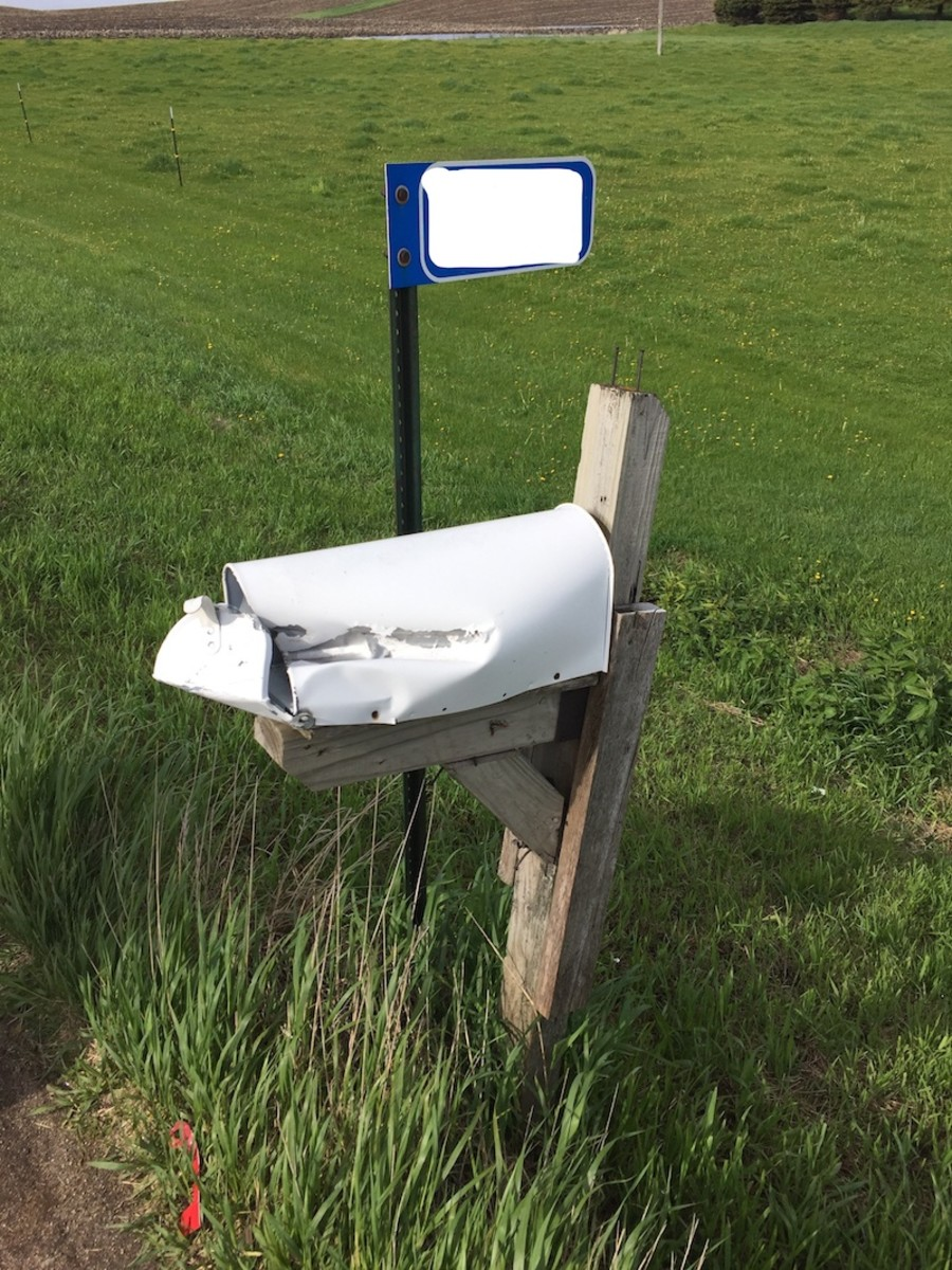 Mailbox vandalism.1 05.27.19