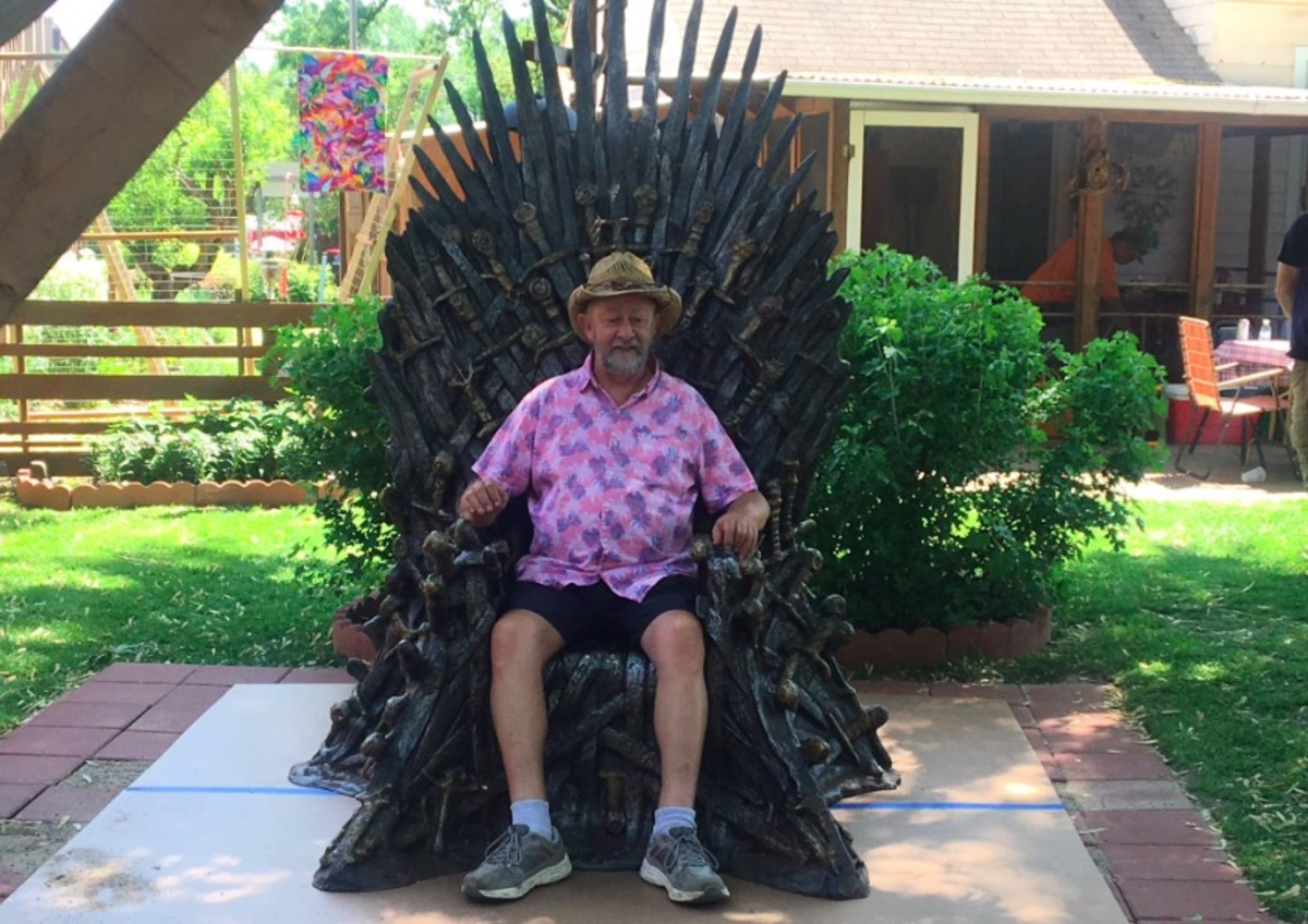 Iron Throne Ken Janes