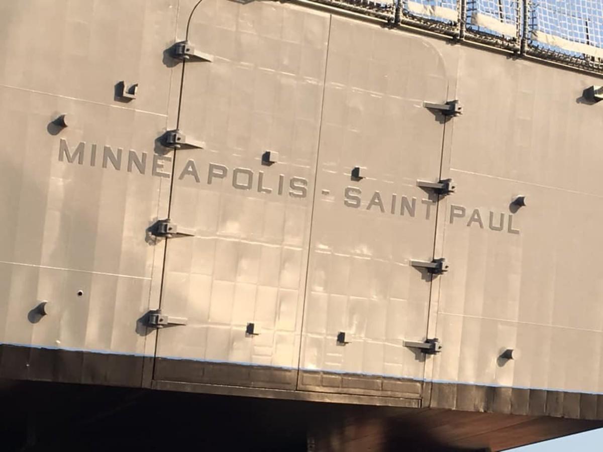 USS Minneapolis-St. Paul.