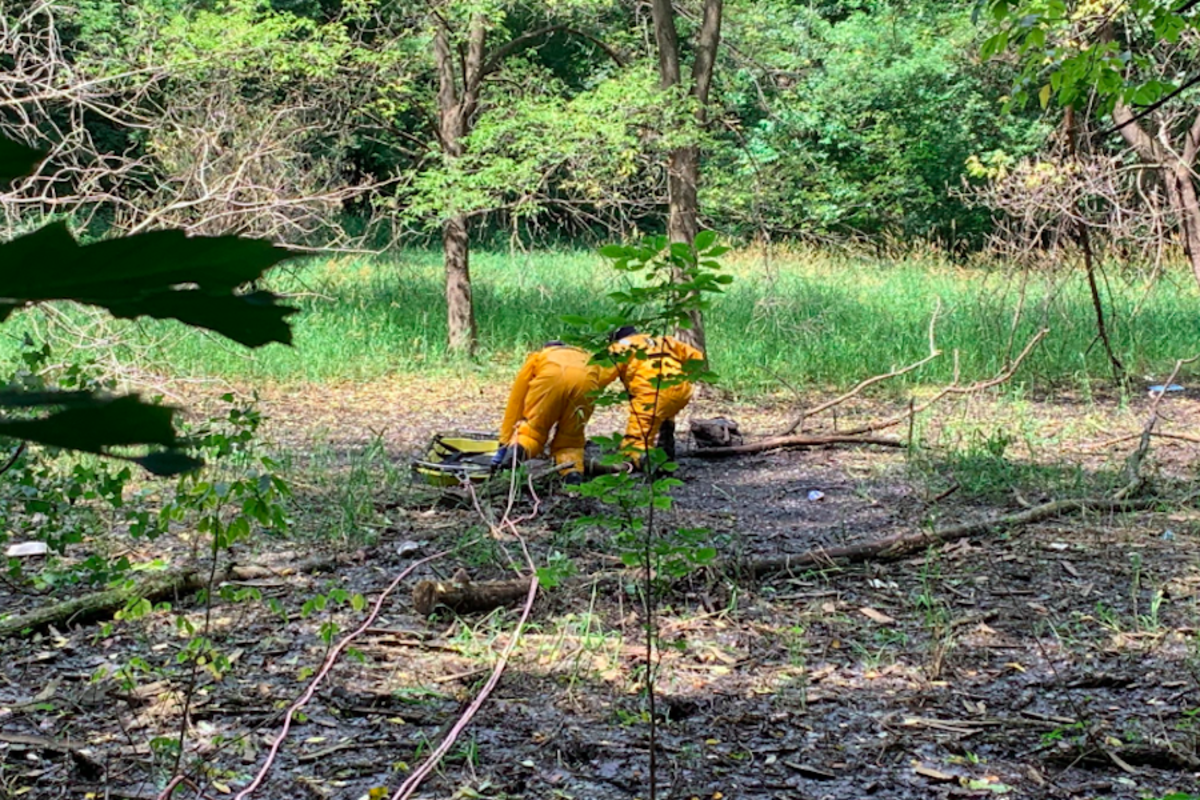 Mud rescue in Roseville.