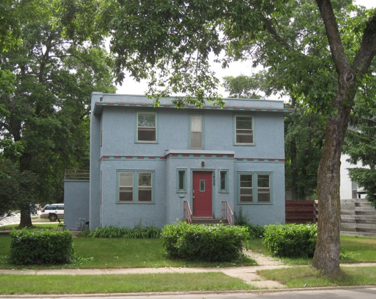 Bob Dylan's boyhood home in Hibbing, MN.