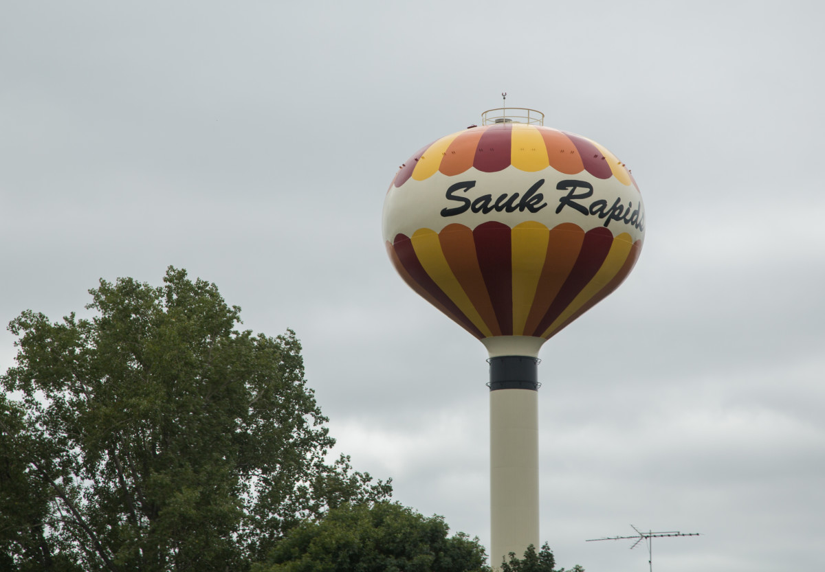 Sauk Rapids water tower