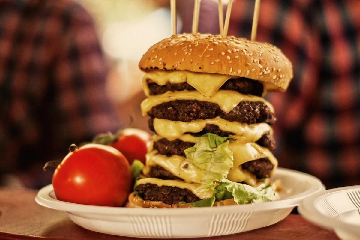 beef, burgers