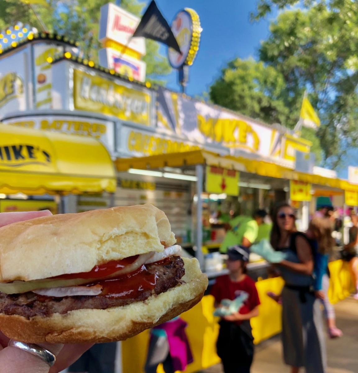 Mike Hamburgers State Fair