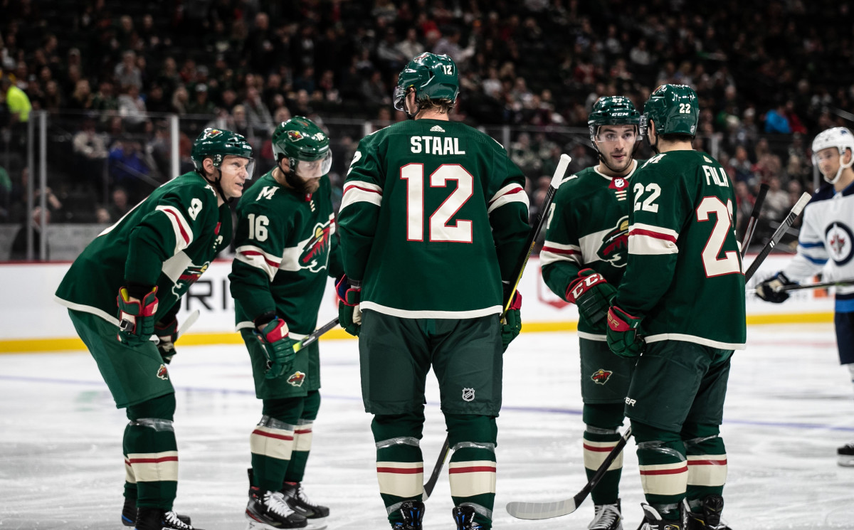Eric Staal, Wild