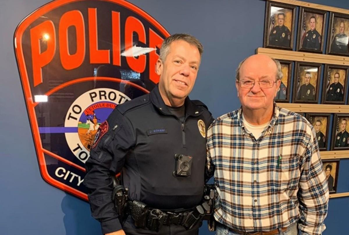 Roger and Big Lake Police