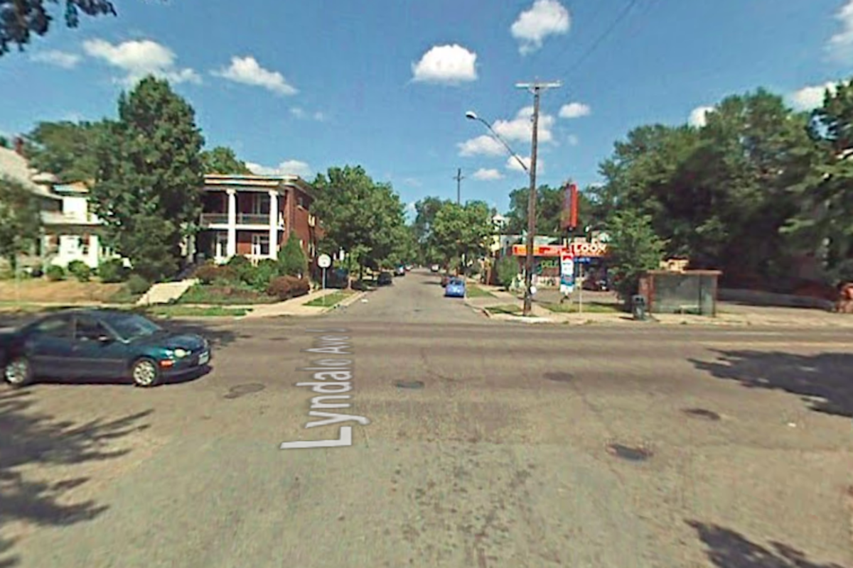 Lyndale Ave and 25th Street.