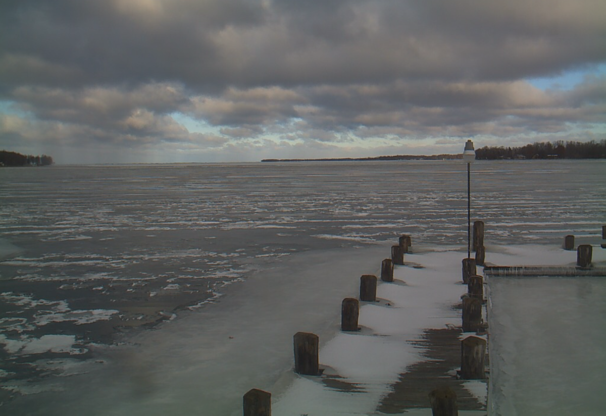 'Very rare' lake-effect snow off Mille Lacs Lake possible Monday - Bring Me The News