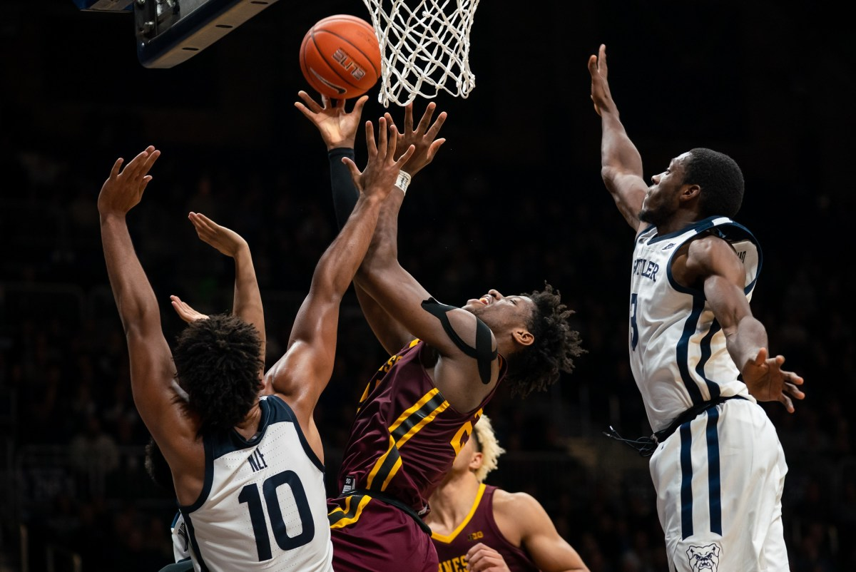 Daniel Oturu, Gophers vs. Butler