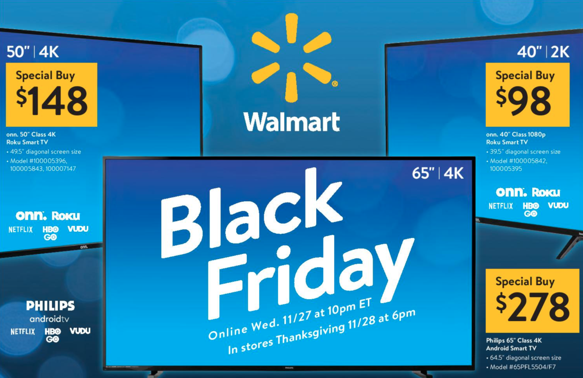 Walmart S Black Friday Ad Is Out With Deals Starting Nov 27 Bring Me The News