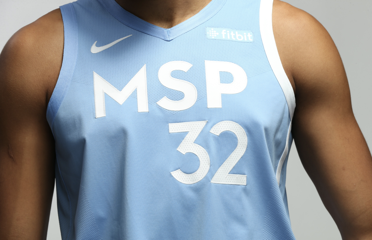 Timberwolves New Uniforms Honor Minneapolis And St Paul Bring