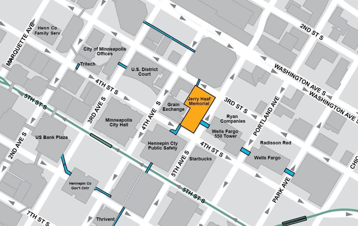 Ramp map. 2