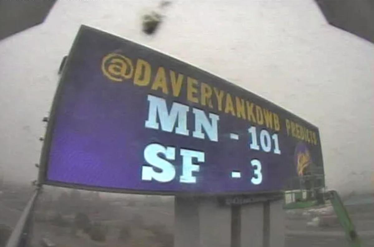 KDWB billboard San Francisco