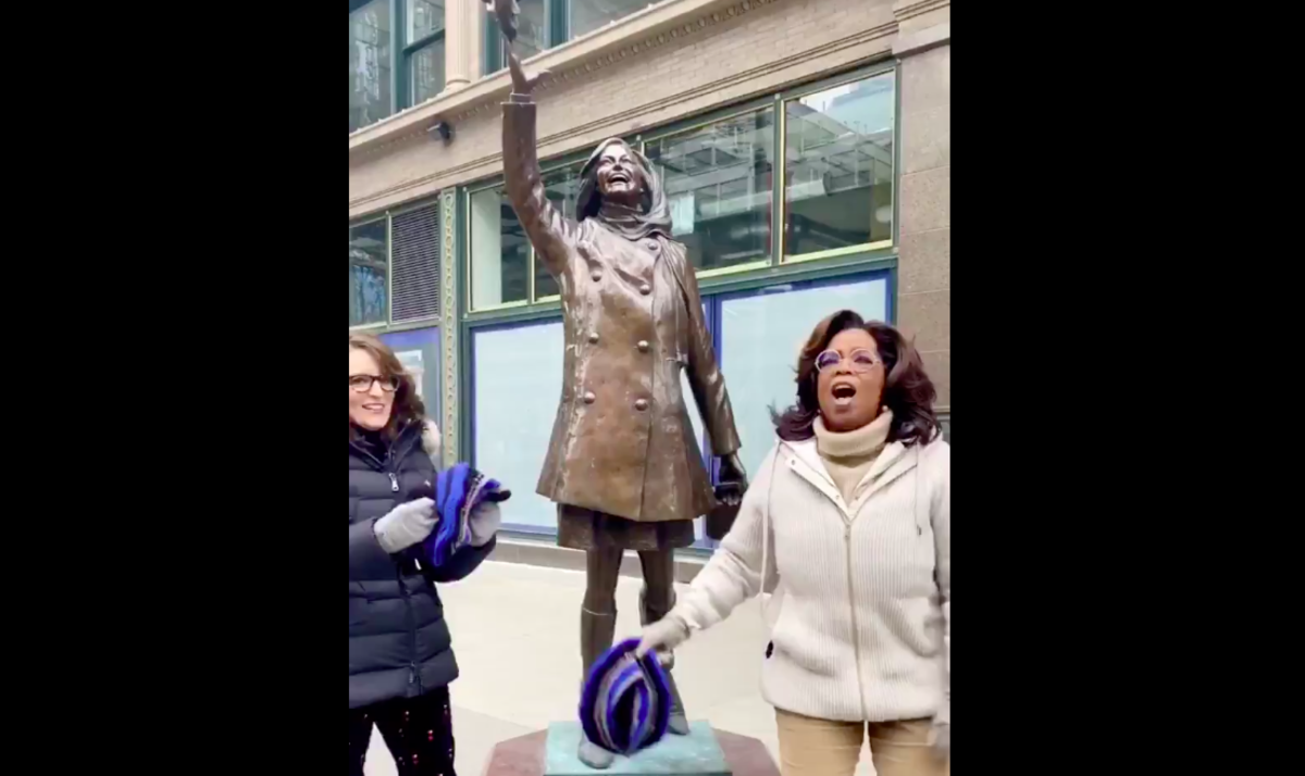 Oprah, Tina Fey and Mary Tyler Moore.