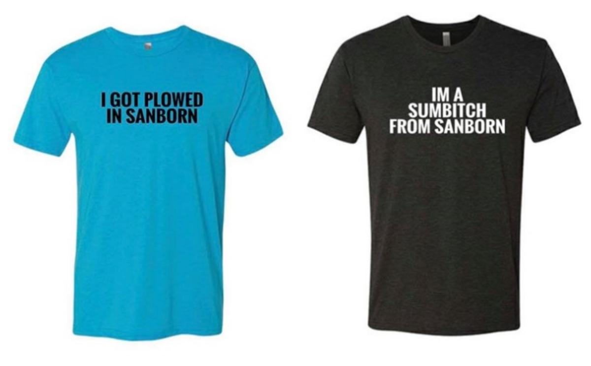 Sanborn shirts
