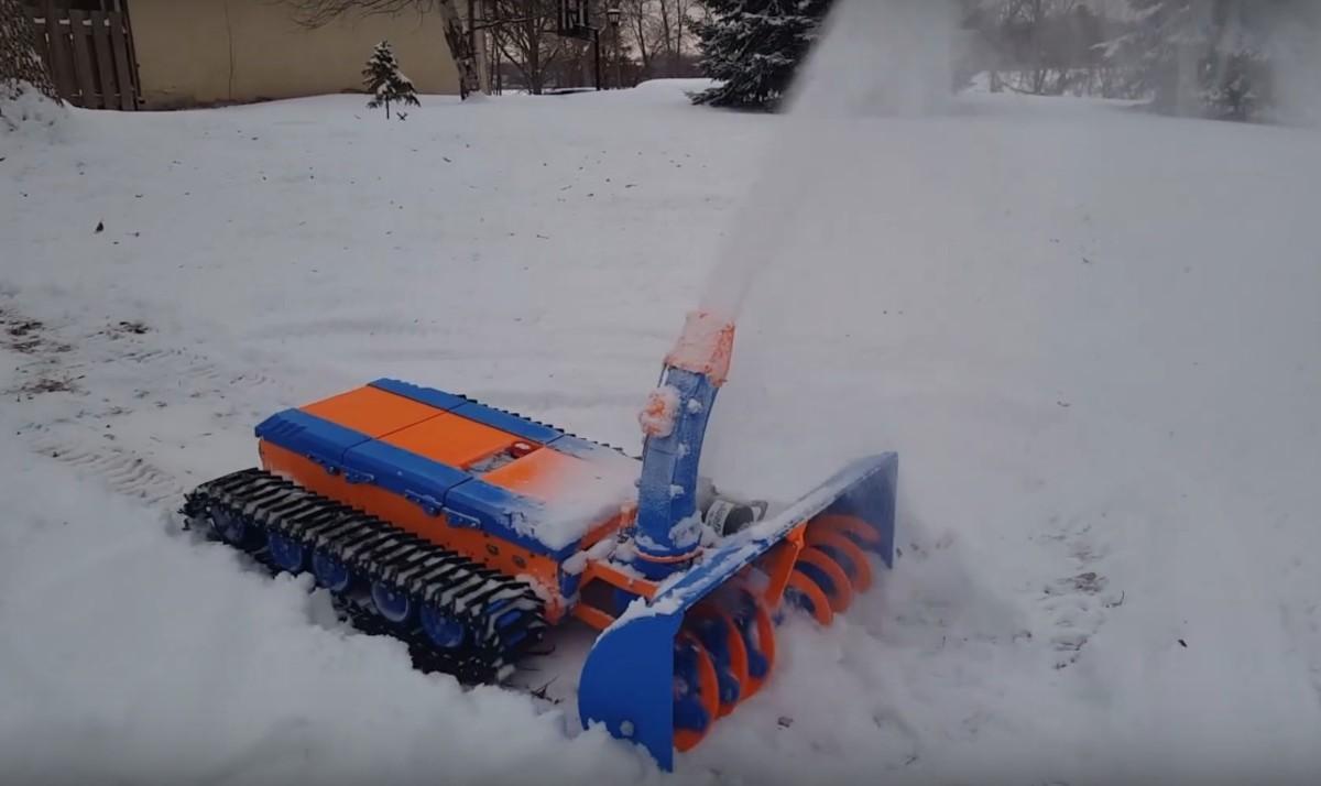 Find Gas Near Me >> St. Paul man creates remote control 3D-printed snowblower - Bring Me The News