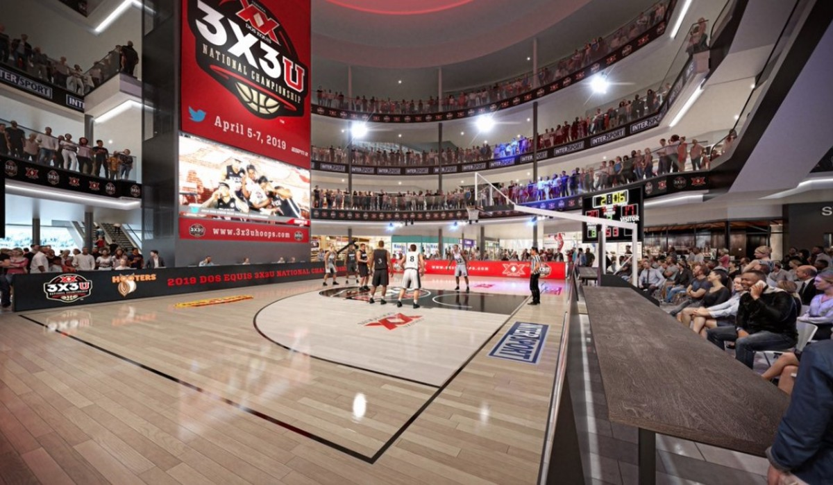 3-on-3 college basketball tournament to be played at Mall of America
