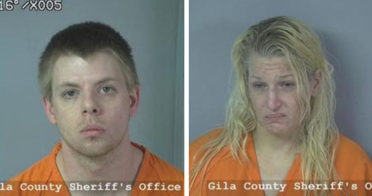 Kathy Anderson, 39, and Brad Smith, 28,