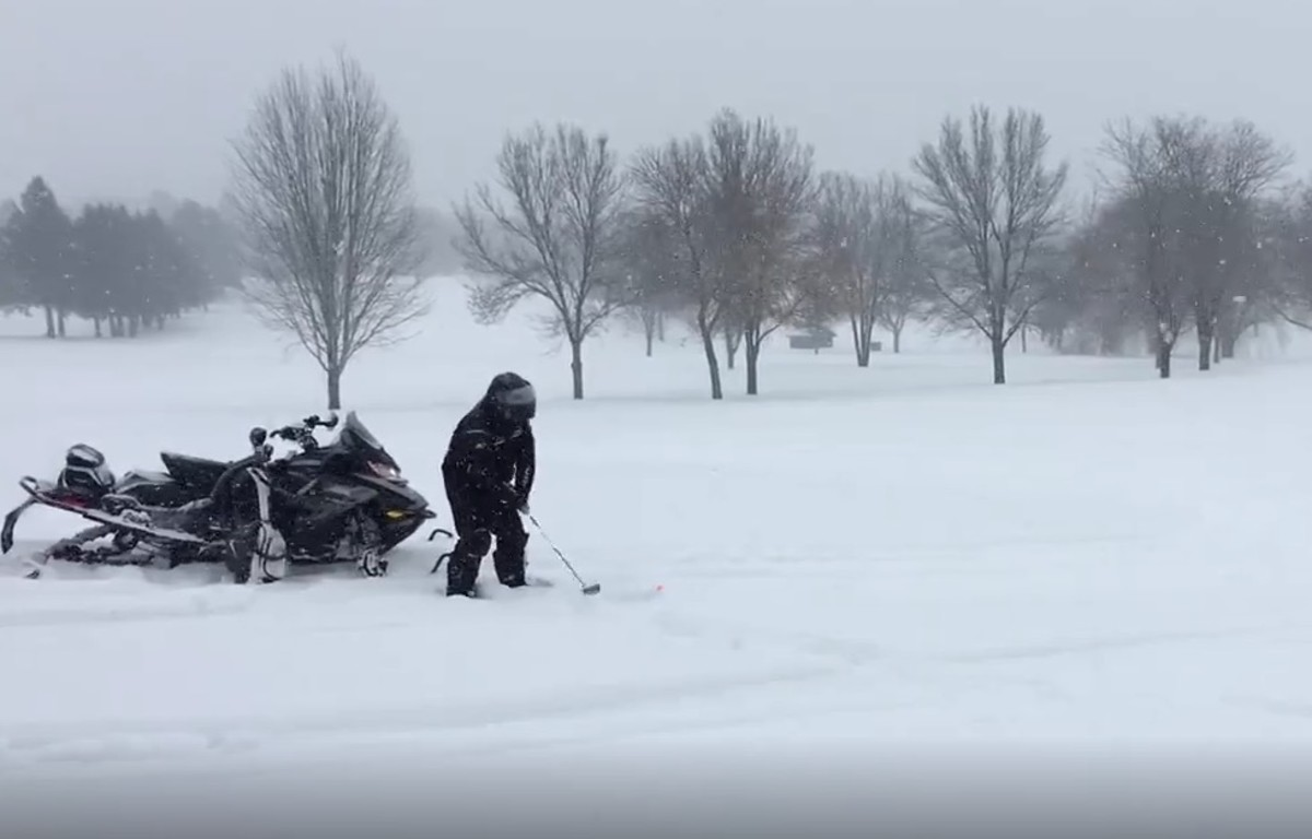golfing in Minnesota