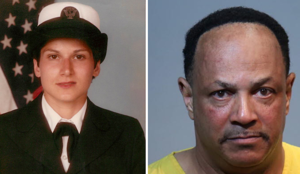 Pamela Cahanes (left) was allegedly killed by Thomas Garner (right) in 1984.
