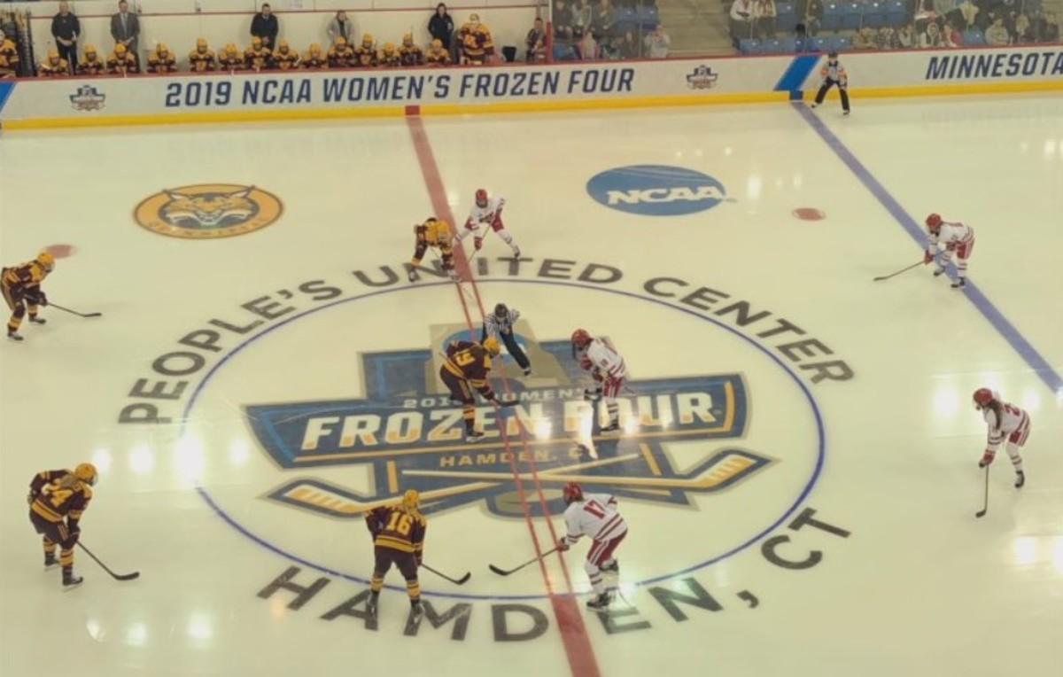 Frozen Four, Gopher women's hockey