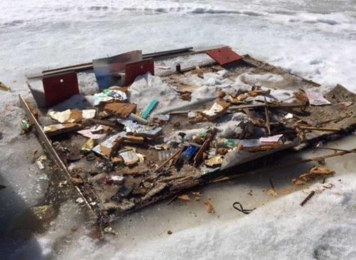 fish house litter march 2019 crop via DNR Facebook