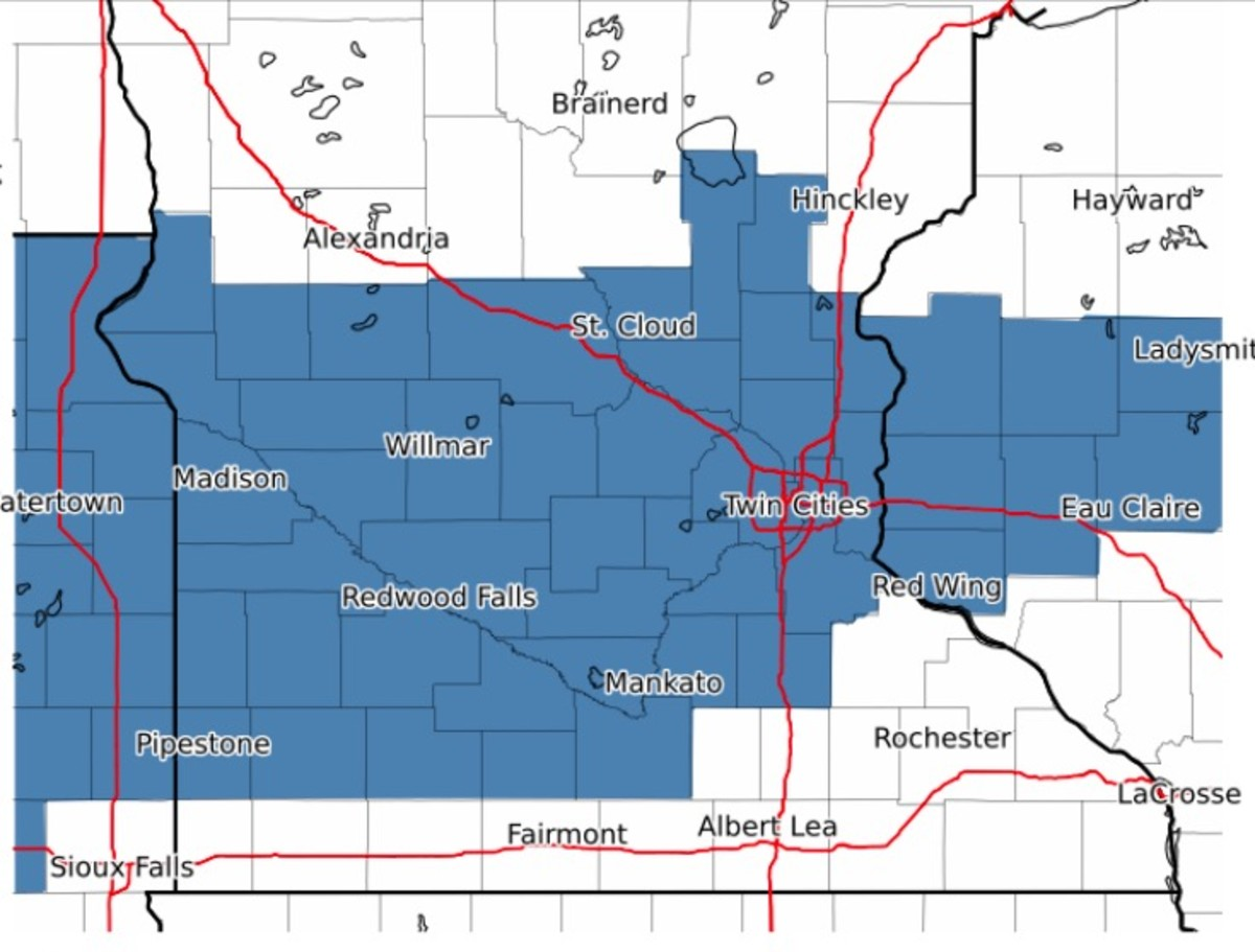 Everywhere in blue is included in the winter storm watch.