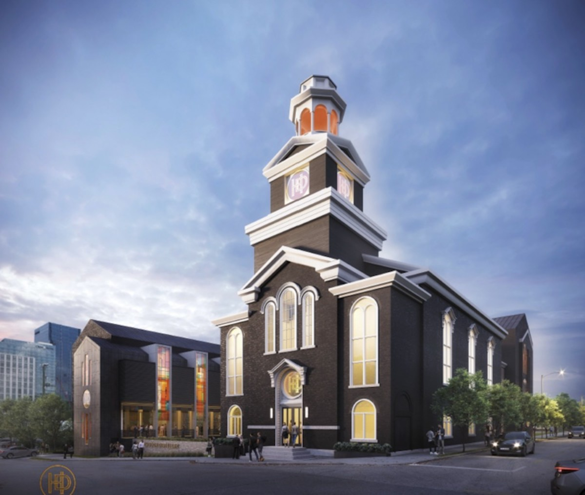 Design for Heaven's Door Distillery and Center for the Arts in Nashville