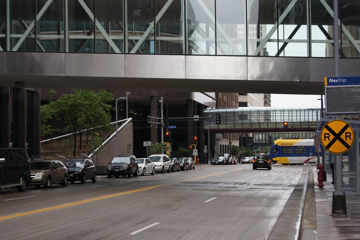 downtown Minneapolis, parking