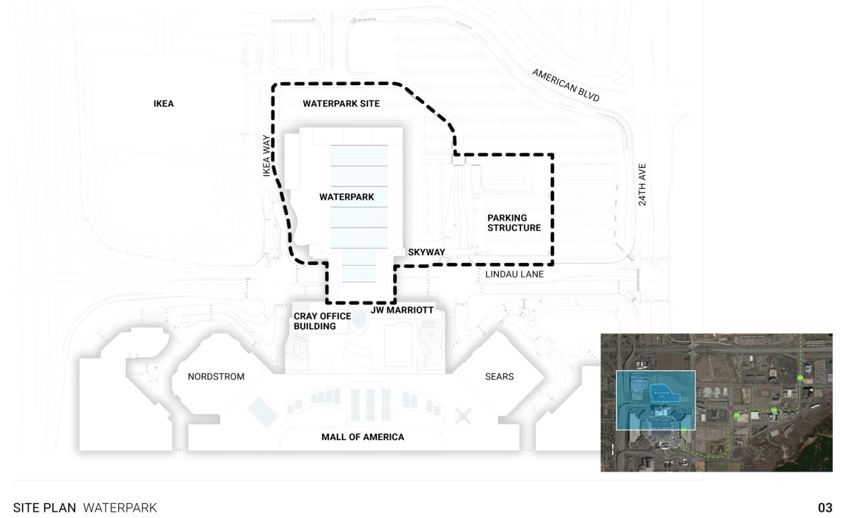 A site plan overview of the proposal.
