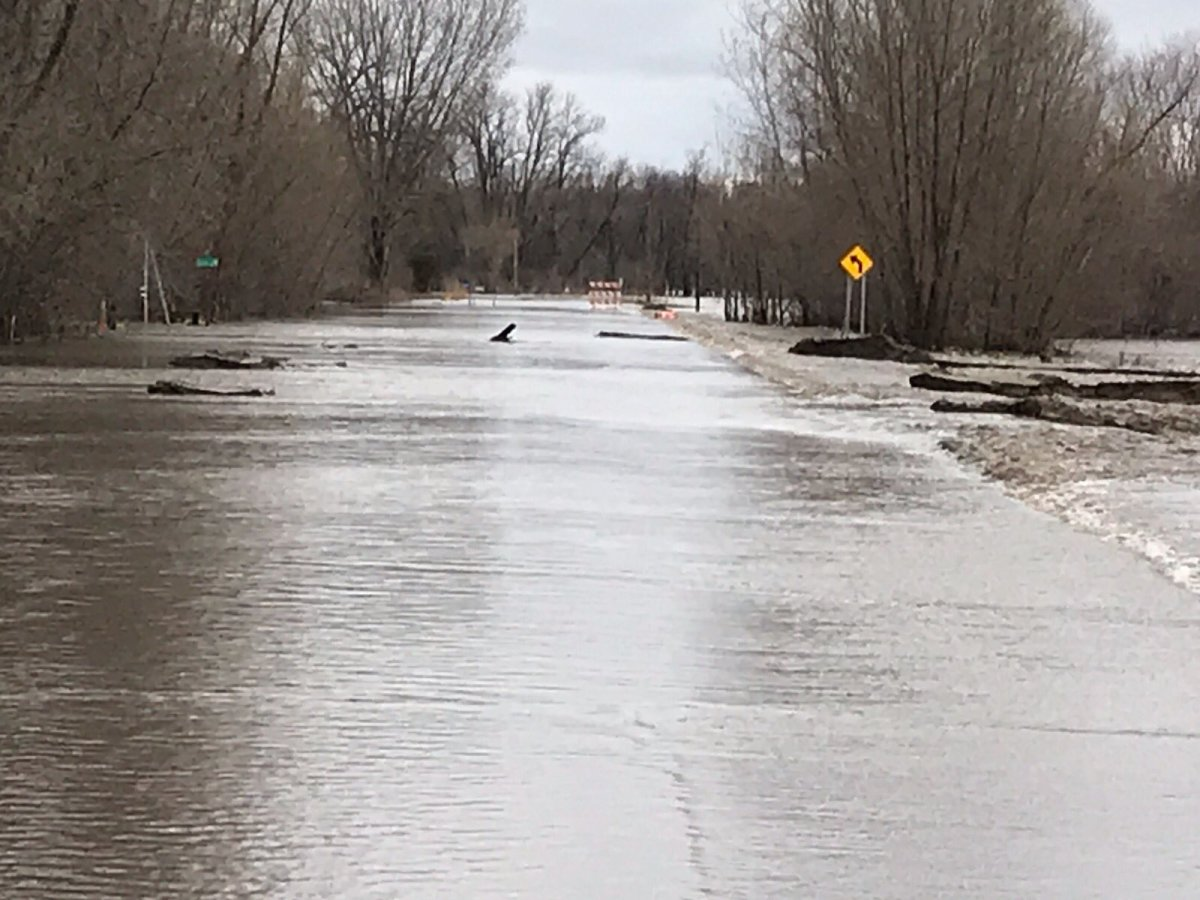 The Rush River over Highway 93 south of Henderson.