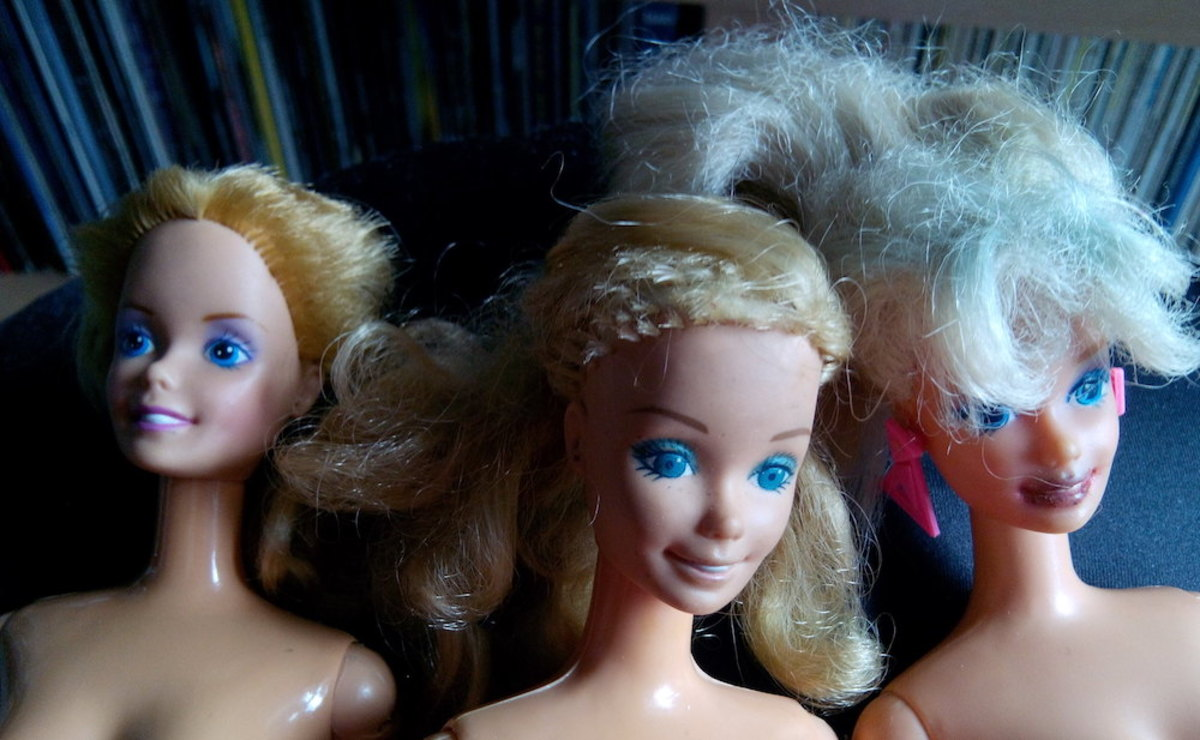 Classic and genuine Barbie dolls, unlike those the feds say were seized at the border.